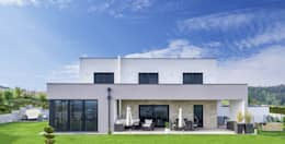 WimbergerHaus Leitner Perg: moderne Häuser von WimbergerHaus