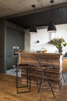 Cocinas de estilo industrial por KOPNA
