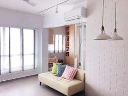 客廳 by Singapore Carpentry Pte Ltd