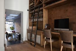 eclectic Wine cellar by Blankstone