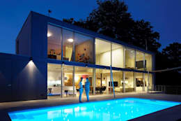 modern Pool by Burckhardt Metall Glas GmbH
