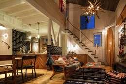 Salas de estar ecléticas por dwarf