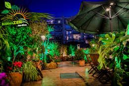 Iluminacion Led de exterior: Jardines de estilo moderno por Barnazen