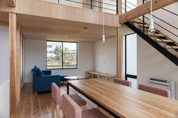 غرفة السفرة تنفيذ TTA+A 高橋利明建築設計事務所