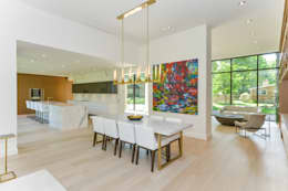 Столовые комнаты в . Автор – Flynn Architect