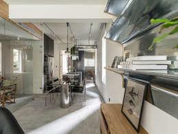 modern Dining room by 鄭士傑室內設計