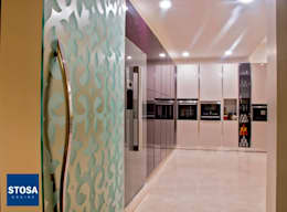 Stosa Cucine India. Latest Installation at Indore: modern Kitchen by cmd