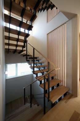 双空の家: 富谷洋介建築設計が手掛けた廊下 & 玄関です。
