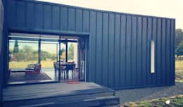Projekty, minimalistyczne Domy zaprojektowane przez Inizio homes
