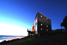 Casa Muelle: Casas de estilo rural por Jonás Retamal Arquitectos