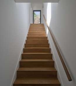 Corridor and hallway by Mayer & Selders Arquitectura