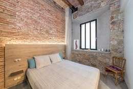 Chambre de style de style Rustique par N.A. Construcción