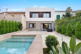 Casas de estilo mediterraneo por JAIME SALVÁ, Arquitectura & Interiorismo