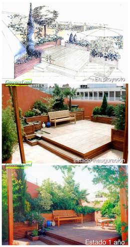 Terrasse von GreenerLand. Arquitectura Paisajista y Tematización