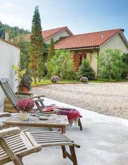 Casas de estilo rústico por albion985