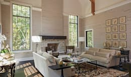 classic Living room by Christopher Architecture & Interiors