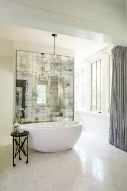 classic Bathroom by Christopher Architecture & Interiors