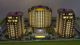 MAG Tasarım Mimarlık İnşaat Emlak San.ve Tic.Ltd.Şti. – TRIOPARK ÇORLU KONUT PROJESİ:  tarz