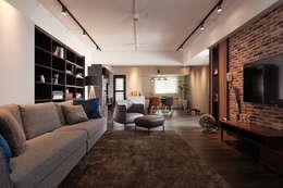 غرفة المعيشة تنفيذ 合觀設計