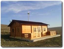Casas de estilo rústico por Soluciones Ecologicas Vidanatural
