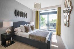 Camera da letto in stile in stile Eclettico di Jigsaw Interior Architecture