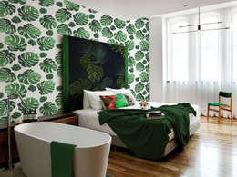 tropical Bedroom تنفيذ Pixers