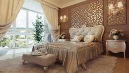 classic Bedroom by القصر للدهانات والديكور