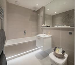 Baños de estilo moderno por Jigsaw Interior Architecture
