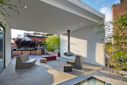 Soho Penthouse:  Patios & Decks by SA-DA Architecture