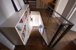 Clinton Avenue:  Corridor & hallway by SA-DA Architecture