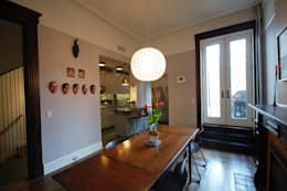 Washington Avenue Brownstone: modern Dining room by SA-DA Architecture