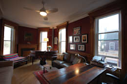 Washington Avenue Brownstone: classic Study/office by SA-DA Architecture
