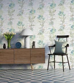 Paredes y pisos de estilo moderno por A.S. Création Tapeten AG