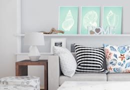 modern Living room by K&L Wall Art