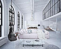 Ruang Keluarga by GM-interior