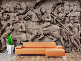 Fine art wallpaper for exclusive wall decor with custom wallpaper and custom wall murals. Walls and Murals: modern Bedroom by wallsandmurals