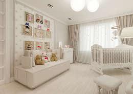 """""""Prime-Design"""": Детские комнаты в . Автор – Дизайн-бюро № 11"""