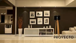 Salas de estilo moderno por D'ODORICO OFICINA DE ARQUITECTURA