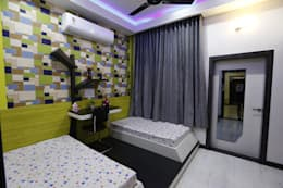 Kids Room: modern Bedroom by RAVI - NUPUR ARCHITECTS