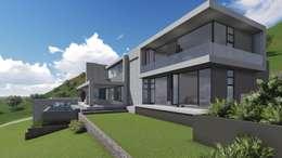 House JVR: modern Houses by Kraft Architects
