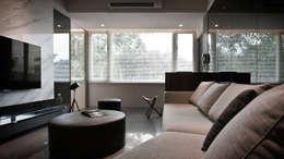 modern Living room by 璞碩室內裝修設計工程有限公司