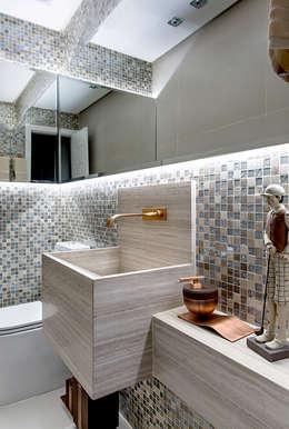 حمام تنفيذ Milla Holtz Arquitetura