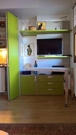 Projekty,  Salon zaprojektowane przez GIRANINTERNI