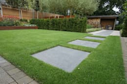Tuin: moderne Tuin door GroenerGras Hoveniers Breda