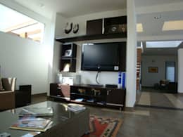 Salas multimedia de estilo moderno por homify