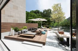 Jump into the Garden: modern Garden by Sensearchitects Limited