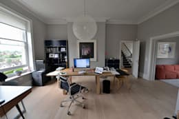House refurbishment and extensions: modern Study/office by BBM Sustainable Design Limited