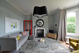 House refurbishment and extensions: modern Living room by BBM Sustainable Design Limited