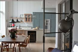 House refurbishment and extensions: modern Kitchen by BBM Sustainable Design Limited