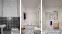 Casa de banho | Bathroom: Casas de banho mediterrânicas por FMO ARCHITECTURE